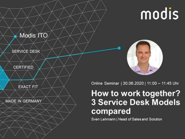3 Service Desk Models compared