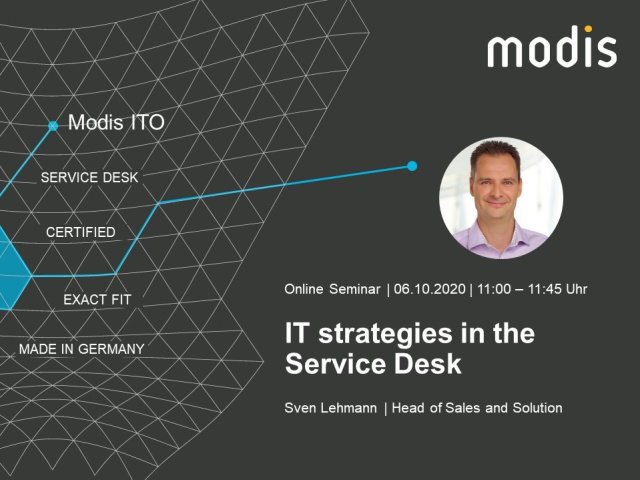 IT strategies in the Service Desk