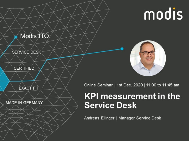 KPI Measurement in the Service Desk